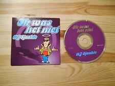 CD Pop DJ sjaakje IK what het Rivet (3 Song) Berk Music/Jail Music