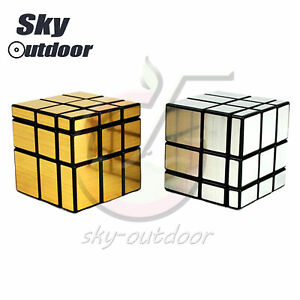 Mirror Bump Magic Cube Smooth Speed Twisty Puzzle Brain Toy L1SO