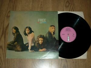 FREE - Fire and Water - UK LP - ISLAND ILPS 9120 - PINK LABEL