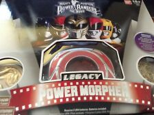 NEW Red Mighty Morphin Power Rangers Legacy Power Morpher - SOME MINT