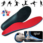 US Orthotic Flat Feet Foot High Arch Gel Heel Support Shoe Inserts Insoles Pads