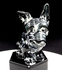 "New listing Occupied Japan Porcelain Black & White Scottie Dog 4 3/4"" Planter 1947-1952"
