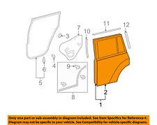 TOYOTA OEM 08-13 Highlander Rear Door-Shell Frame Panel Right 670030E060