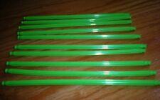 "K'Nex Lime Flex Rods 7 1/2"" Lot of 10 New"