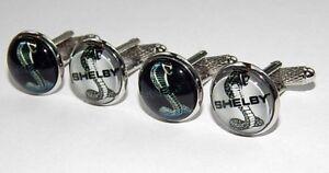 Ford shelby Mustang logo cufflinks Shelby Cobra jewelry Ford shelby cobra symbol
