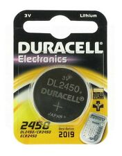 DURACELL CR2450 BATTERIA A LITIO A BOTTONE 3V DL2450 / ECR2450