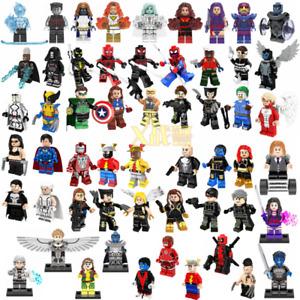 Iron man DC Batman Joker The Justice League Super Heroes Minifigures Toys