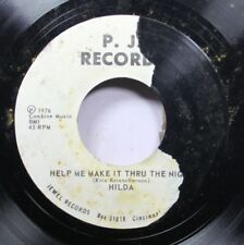 Soul Promo Nm! 45 Hilda - Help Me Make It Thru The Night / Give Me Another Day O