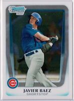 JAVIER BAEZ 2011 Bowman Chrome #1 Draft Pick Rookie Card RC Chicago Cubs HOT $$
