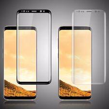 Samsung Galaxy S8 S9 Plus протектор экрана закаленное стекло 3D изогнутыми стеклянными щит