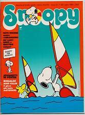 SNOOPY mensile N.7 Rizzoli 1988 peanuts calvin hobbes sansone leo verdura schulz