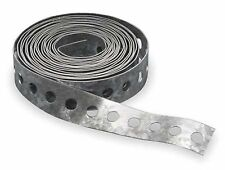 3/4 in. x 100 ft. Perforated Galvanized Steel Hanger Strap for ducts, Expedited