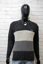 LEVI'S STRAUSS Uomo M Maglione Maglia Lana Felpa Cardigan Pullover Sweater Man