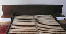 TÊTE DE LIT CHEVET INTEGRE AVEC TIROIR EN TECK VINTAGE DESIGN SCANDINAVE 1970
