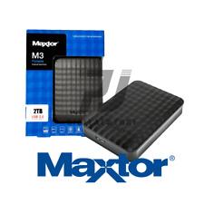 Maxtor Stshx-m201tcbm disco rigido esterno (maxtor 2tb M3 USB 3.0 Portable Hard