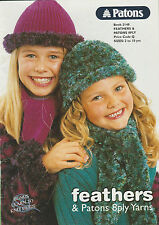 Girls Knitting 2 to 10 years - Patons 2148 - Lovely Collection in 8ply