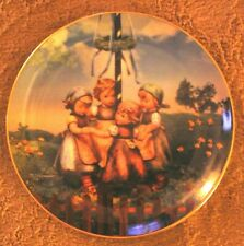M.I. Hummel Calendar Plate Collection Maypole #Wx3529
