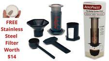 Aeropress  Authentic Coffee Maker Brewer Makes 3 Shots SEE VIDS.FREEBIE  Filter