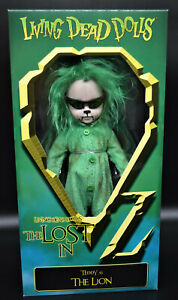 Living Dead Dolls - LOST IN OZ - TEDDY as THE LION variant - Mezco - MIB
