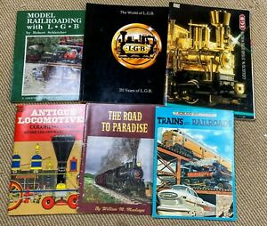 LGB Model Railroad Catalogs and other misc. railroad books