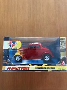 FIRST GEAR 1ST 1933 WILLYS COUPE CARQUEST  NIB