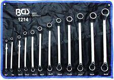 BGS 1214 Doppel Ringschlüssel Satz 12 teilig gekröpft Schraubenschlüssel 6-32 mm