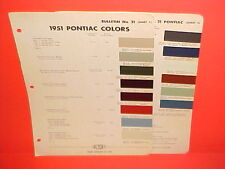 1951 PONTIAC CHIEFTAIN STREAMLINER CATALINA DELUXE CONVERTIBLE COUPE PAINT CHIPS