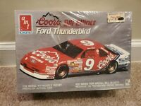 Bill Elliott Coors AMT 6692 1/25 Model Kit Ford Thunderbird New in Box Sealed