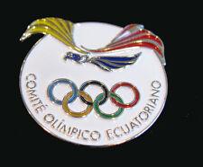 RIO 2016 Olympic Games LIMITED ECUADOR new NOC delegation team pin