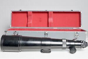 Asahi Pentax Tele-Takumar 1000mm f8 Lens with Case