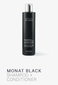 Monat Black 2 in 1 Shampoo + Conditioner NEW & Unopened