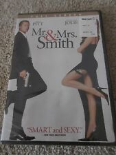 Mr. & Mrs. Smith (DVD, 2005, Full Screen) BUY MORE, SAVE BIG, MANY NEW!