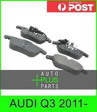 Fits AUDI Q3 2011- - PAD KIT, DISC BRAKE, FRONT