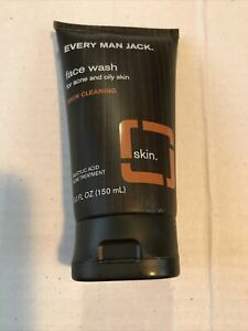 Every Man Jack Face Wash for Acne & Oily Skin 5 oz