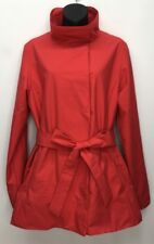 PATAGONIA Larissa Belted Rain Coat Weatherproof Rain Jacket Red Women's L Large