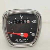 Vintage Schwinn Approved Bicycle Speedometer Not Tested