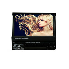 """7"""" HD Touch Screen Double 1 DIN Car GPS Stereo DVD Player Bluetooth Radio & Map"""