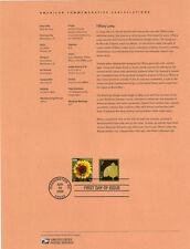 #0915 1c Tiffany Coil Reissue #3758A Souvenir Page
