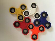 12x Fidget Spinner Red Orange Blue White Yellow