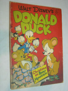 Four Color #178 FA Barks Christmas on Bear Mountain 1st Uncle Scrooge