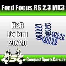 Ford Focus RS 2.3 ECOBoost MK3| 350PS | H&R Fahrwerksfedern/Tieferlegungsfedern