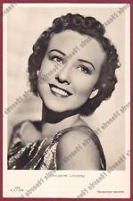 MARGARET LINDSAY 04 ATTRICE ACTRESS ACTRICE CINEMA MOVIE USA Cartolina FOT. 1937