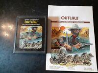 Outlaw (Atari 2600, 1978) *BUY 2 GET 1 FREE +FREE SHIPPING*