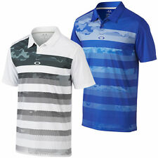 Polyester Short Sleeve Striped Casual Shirts & Tops for Men