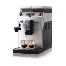 Saeco 10004477 Lirika Macchiato Kaffeevollautomat Silber