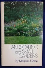 1970 Vintage Doubleday Book Landscaping and Small Gardens DIY Lanscape Design