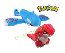"2pcs Pokemon Center Plush Doll Toy Kyogre 9"" & Groudon 6"" Xmas Gift For Kids"
