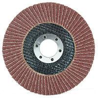 "New 115mm x 22mm Sanding Flap Disc Discs Grinding Wheels 40 60 80 120 Grit 4.5"""