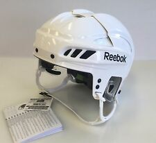 New Reebok 11K Olympics Pro Stock/Retu​rn white L large size ice hockey helmet