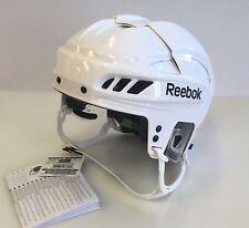 New Reebok 11K Olympics Pro Stock/Return white L large size ice hockey helmet